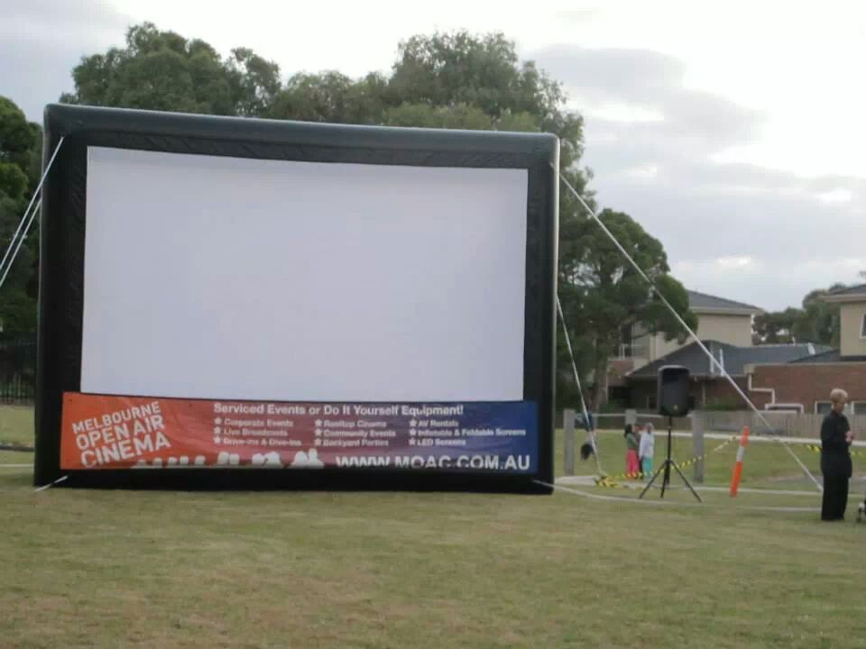 Cerebral Palsy event outdoor screen
